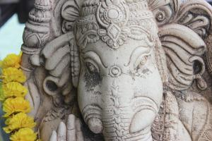 Statue of Ganesh(a), a popular Hindu god, photo courtesy of MorgueFile