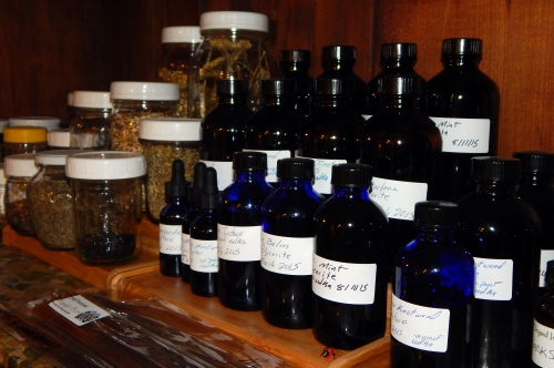 I never knew 19 years ago that someday having a stockpile of herbal tinctures would make me feel witchy.