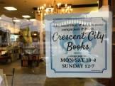 Crescent Book sign
