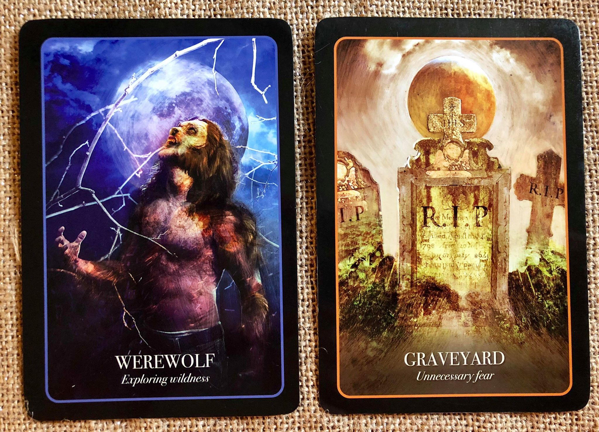 Cards of the Day: Werewolf & Graveyard | Parting the Mists
